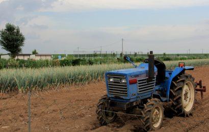 農機と圃場
