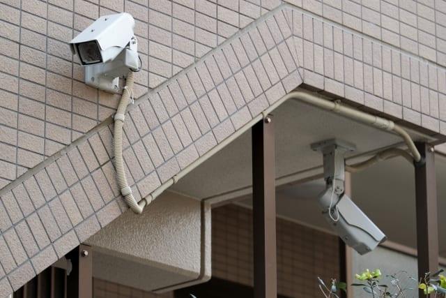 マンションの防犯カメラ