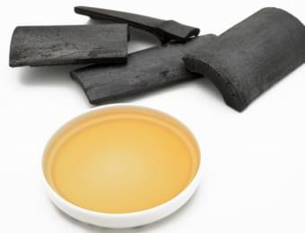 竹炭と竹酢液