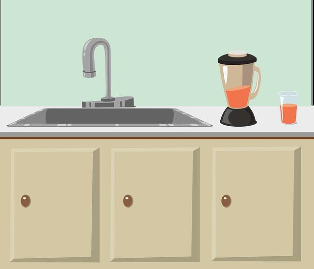 木酢液は、キッチンの収納庫に保管