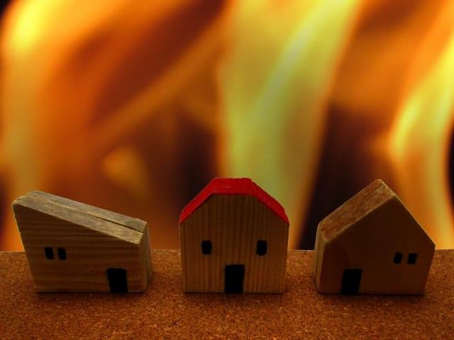 火災警報機で家事の危険を回避