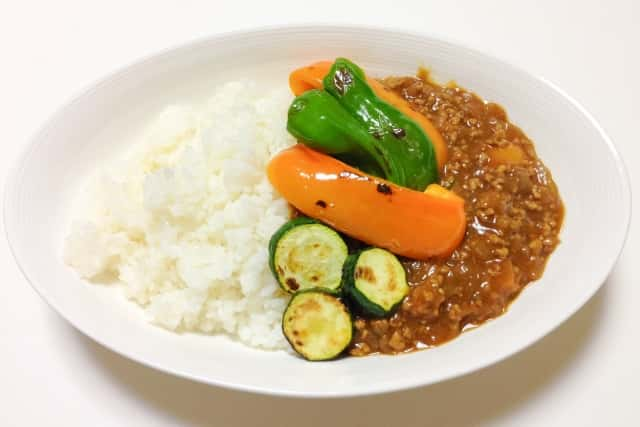 夏野菜を使った食事