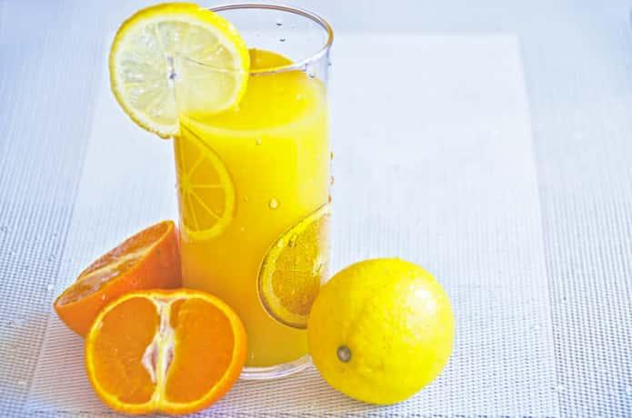 夏バテに効く柑橘系の飲み物