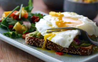 バランスのいい朝食