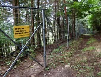 獣除けの柵
