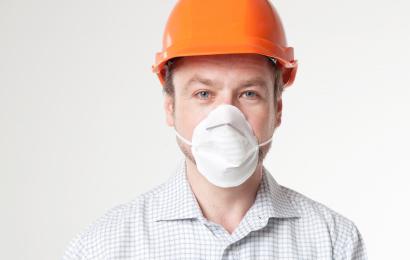 カップ、ドーム型の使い捨てマスク