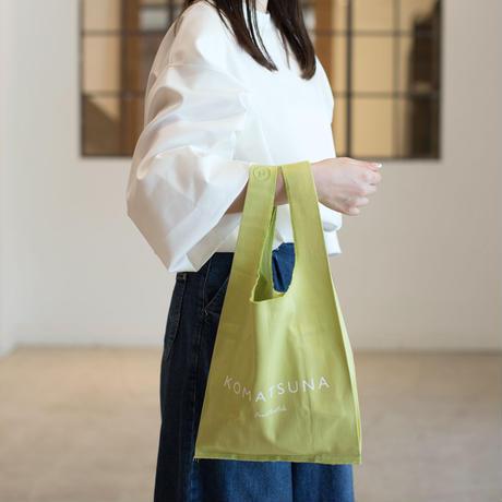 黄緑色のバッグ