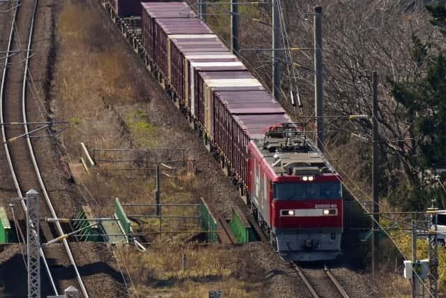 JRコンテナと貨物列車