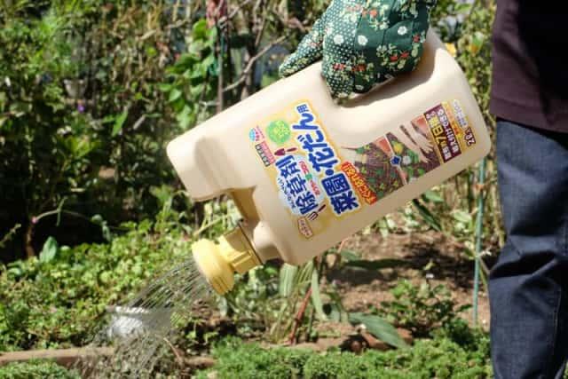 アース除草剤の使用イメージ