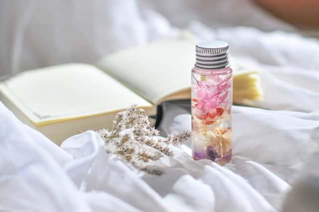 ハーバリウムの小瓶