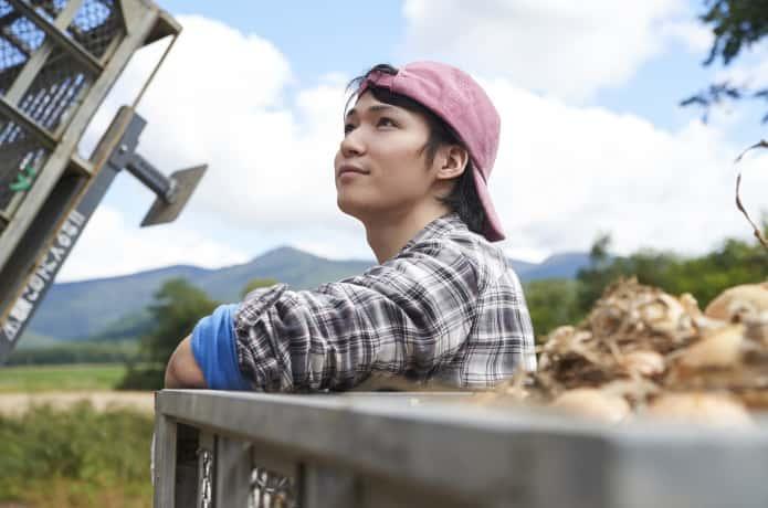 農業を志す若者