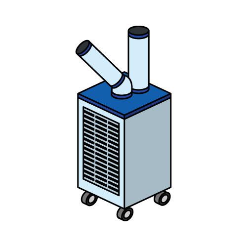 冷風機イラスト