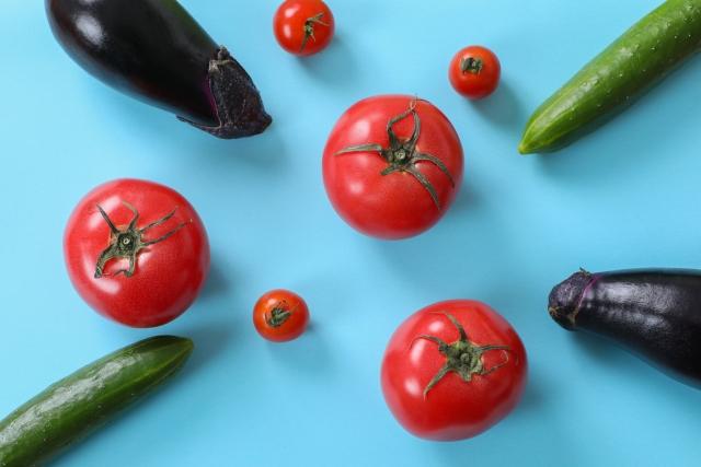 高品質の野菜