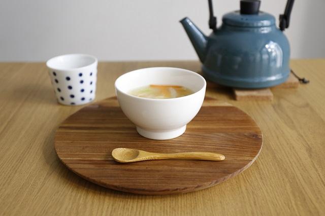 保存野菜で作ったスープ