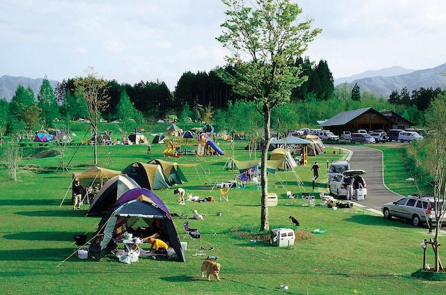 服掛松キャンプ場