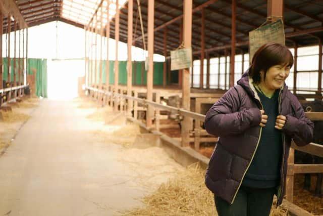 川瀬さんの牛舎