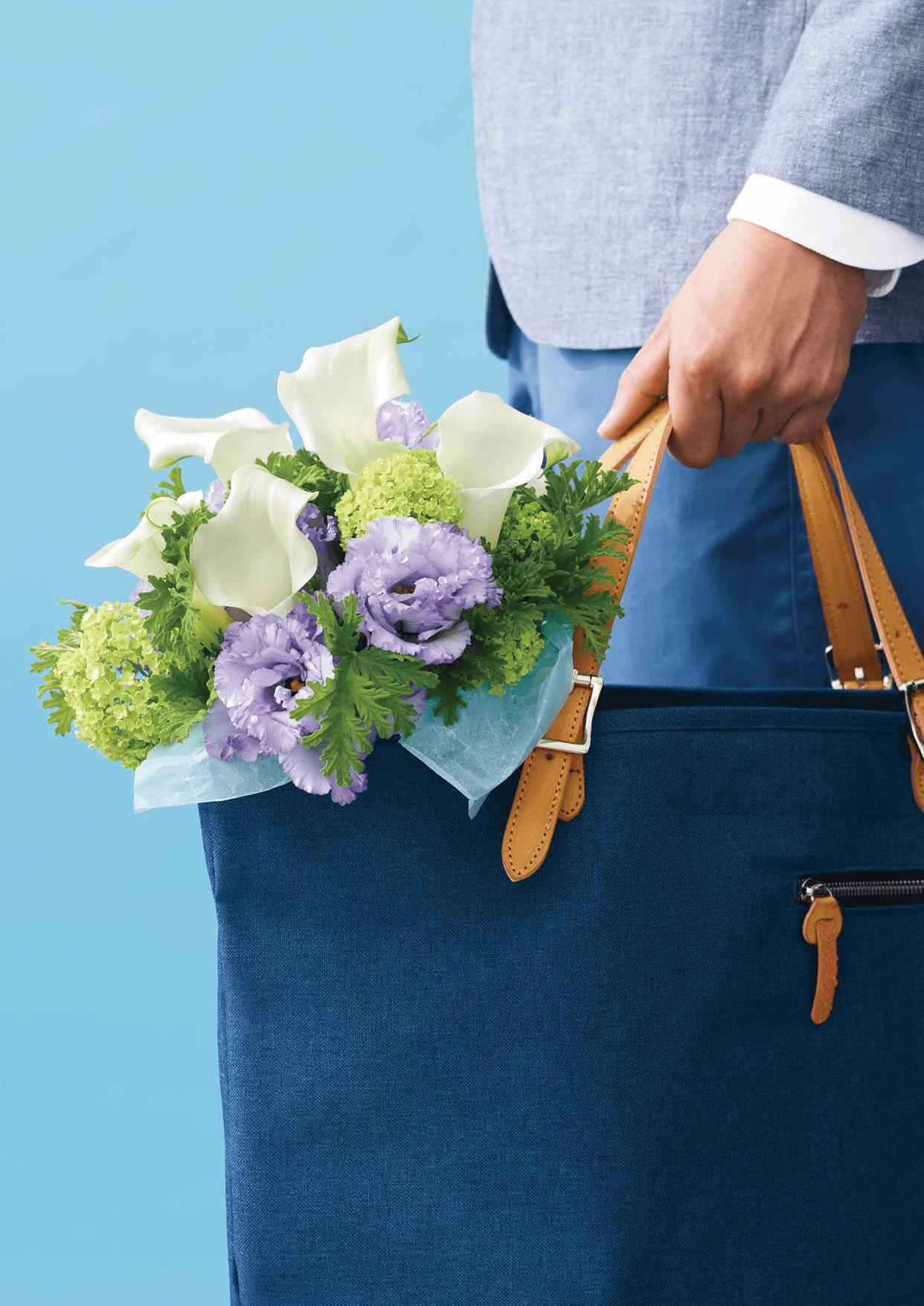 「花いっぱいプロジェクト」ホワイトデーチラシ