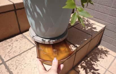 屋外使用のポットキーパー