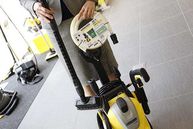 ケルヒャー高圧洗浄機のアクセサリー