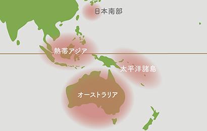 ホヤ原産地 地図
