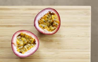 パッションフルーツの果肉