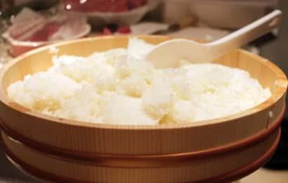 柿酢 酢飯