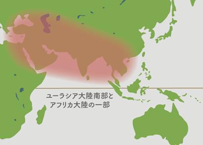 アスパラガス原産地地図
