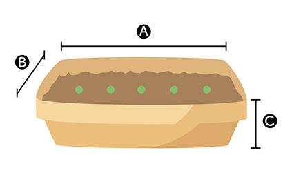 アズキ栽培に適したプランター