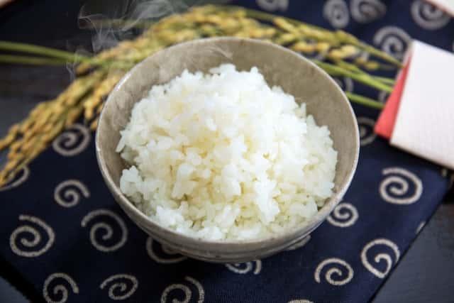 お米をプレゼント