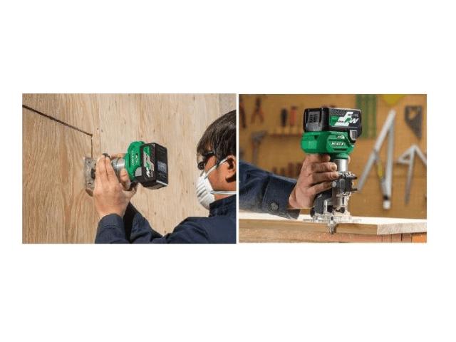 HiKOKI製木工用電動工具「トリマ」の新製品はパワフル&スピーディ!コードレス式だから作業がしやすい